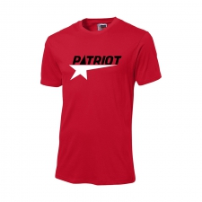 ~Patriot T-Shirt | Red with BW Logo | L