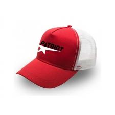 ~Patriot Trucker Cap| Red