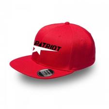 ~Patriot Snap Back Flat Cap | Red