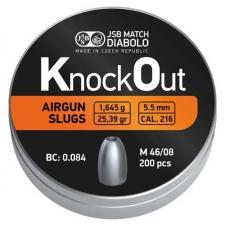 ~JSB Knockout Slugs | .216 Caliber| 5.5mm